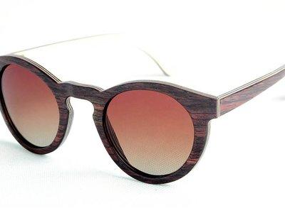 Bewoodz ® Holzsonnenbrille 'Sainte-Marine'