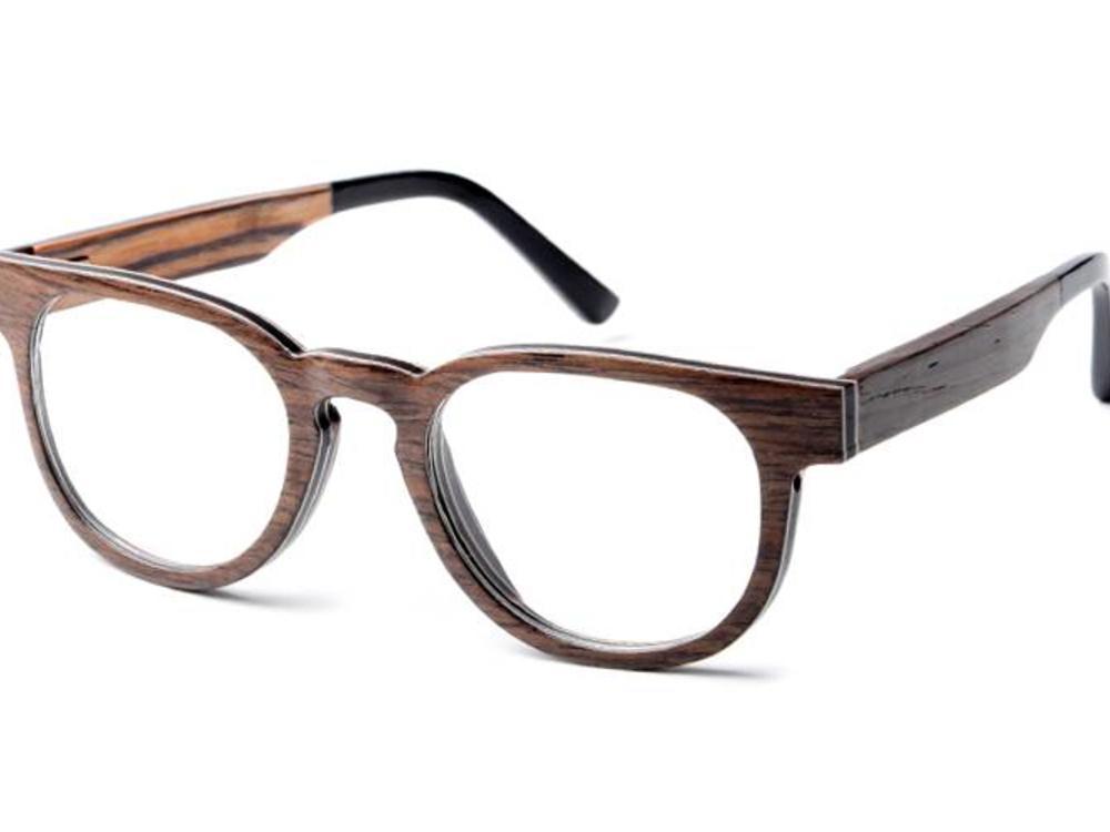Bewoodz ® Holzbrille 'La Louvière'