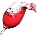 Halve zoete rosé wijn