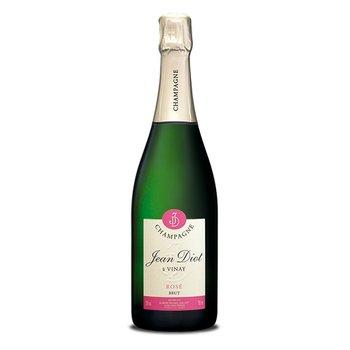 Jean Diot Champagne Rosé Brut