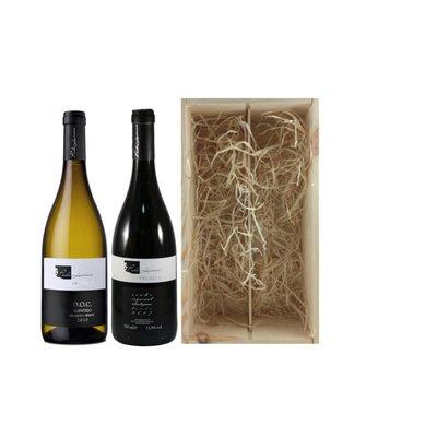 Wijngeschenk Premium Branco & Tinto