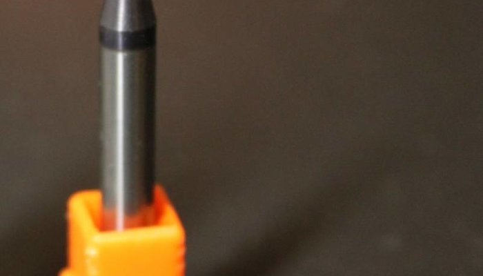 Schaftfräser VHM Ø2mm x 6mm Schaft