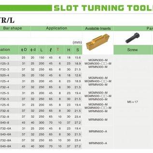 Bohrstange Innenstechen MGIVR 2520-3 zum Inneneinstechen