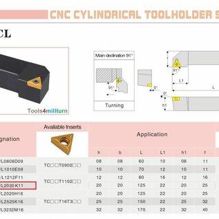 Drehmeißel zum Außendrehen STGCL 2020 K11