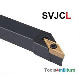 Drehmeißel zum Außendrehen SVJCL 1616 H16