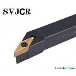 Drehmeißel zum Außendrehen SVJCR 1616 H11