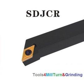 Drehmeißel zum Außendrehen SDJCR 2525 M11