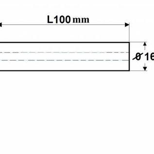 Spannzangenfutter ER16-100-C16