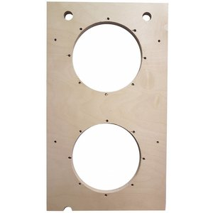 "Box of Doom Baffle plate | 2x Ø232 mm | 10"" standard 