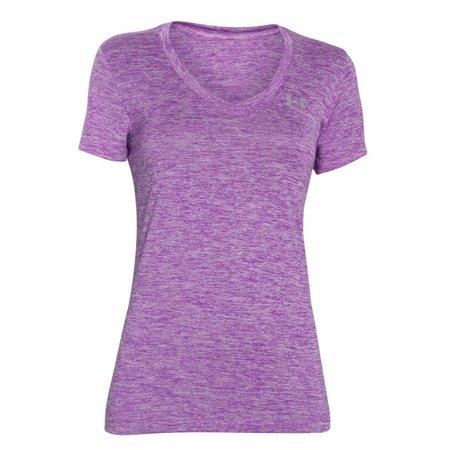 Under Armour Women's Running Shirt Tech Twist - Purple