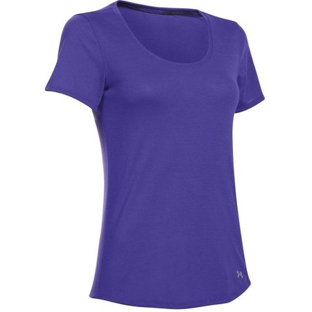 Under Armour Women's Running Shirt Streaker purple