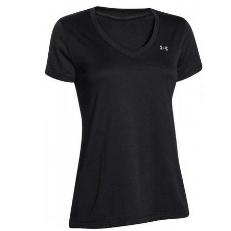 Under Armour Women's Running Shirt Tech SS Solid Aubergine - Copy - Copy
