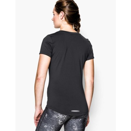 Under Armour Ladies Running Tee Shirt Perfect Pace  black