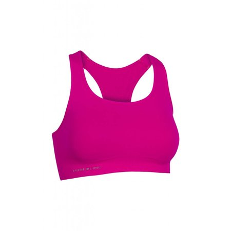 Pure Lime Dames Seamless Bra Top