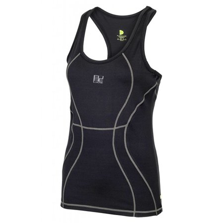 Pure Lime Ladies Tank Top Intensity RB Tank Black Breathe Dri Active