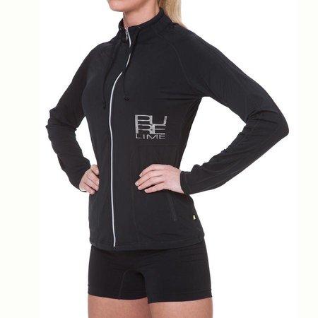Pure Lime Ladies Sports Jacket Gym Addict Jack Black