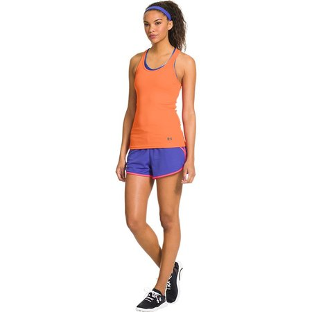 Under Armour Dames tank top Victory oranje