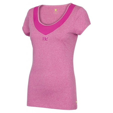 Pure Lime Dames sportshirt Deep Scoop Neck Tee