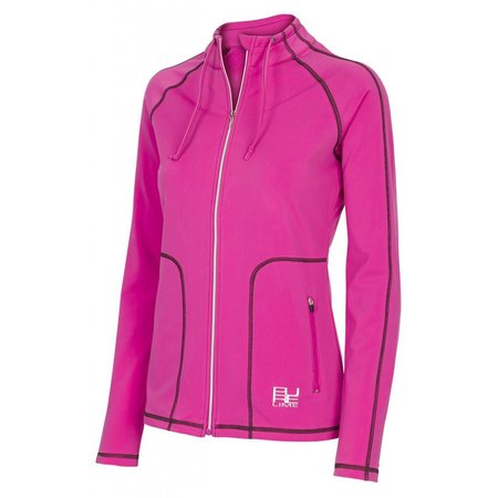 Pure Lime Ladies sport jacket Gym Addict Jack pink