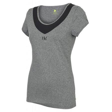 Pure Lime Ladies sport shirt Deep Scoop Neck Tee