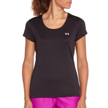 Under Armour Women's Running Shirt HG Flyweight Tee black
