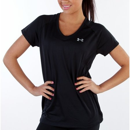 Under Armour Women's Running Shirt Tech SS Tee black