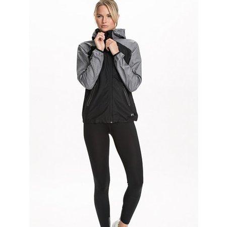 Under Armour Dames hardloopjack Qualifier Woven Jacket zwart