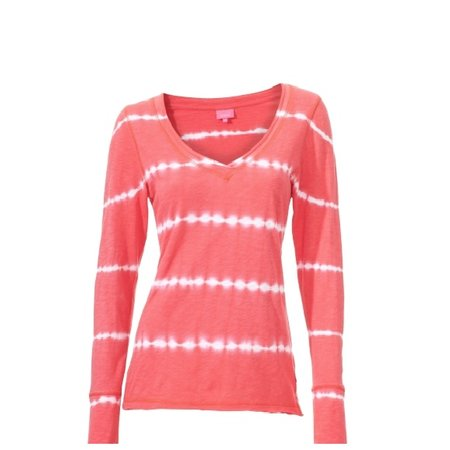 Venice Beach Ladies Long Sleeve Red Shirt Simon