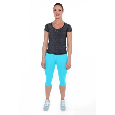Venice Beach Women's sports capri blue Nomina