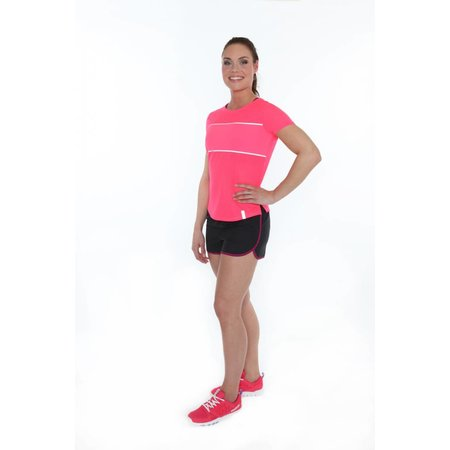 Under Armour Dames Hardloopshirt Fly Fast SS roze
