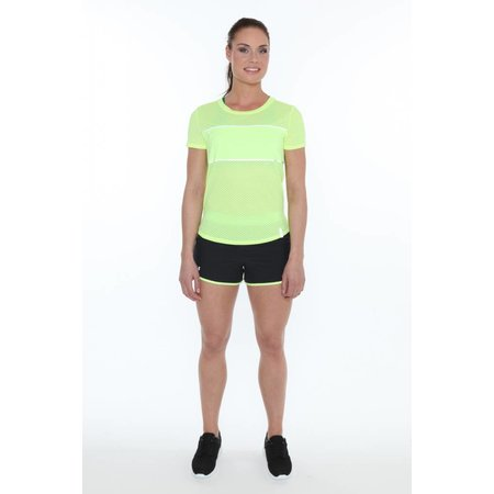 Under Armour Dames Hardloopshirt Fly Fast SS neon