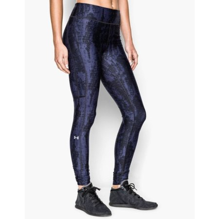 Under Armour Dames Hardlloopbroek Heatgear Alpha Compression Legging blauw/zwart