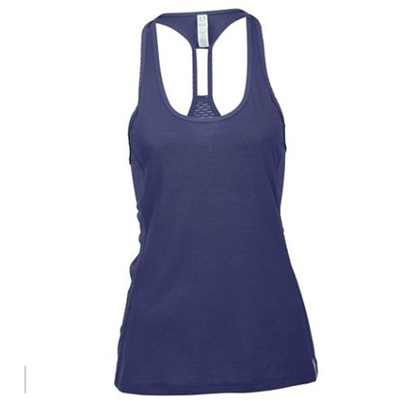 Under Armour Ladies Tank Top Fly-By Stretch Mesh Tank blue