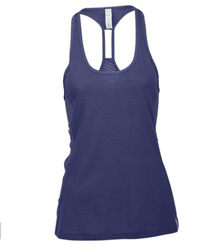 best website 0b067 25926 Under Armour Ladies Tank Top Fly-By Stretch Mesh Tank blue ...