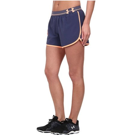 Under Armour Ladies short running shorts Perfect Pace Short blue