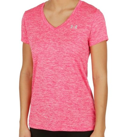 Under Armour Women's Running Shirt Tech SS Twist pink
