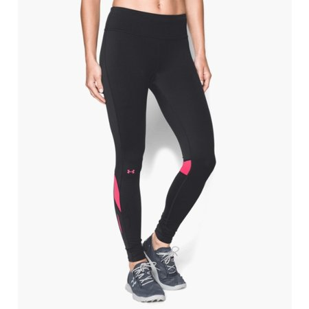 Under Armour Ladies Hardlloopbroek Fly Bly Compression tights pink