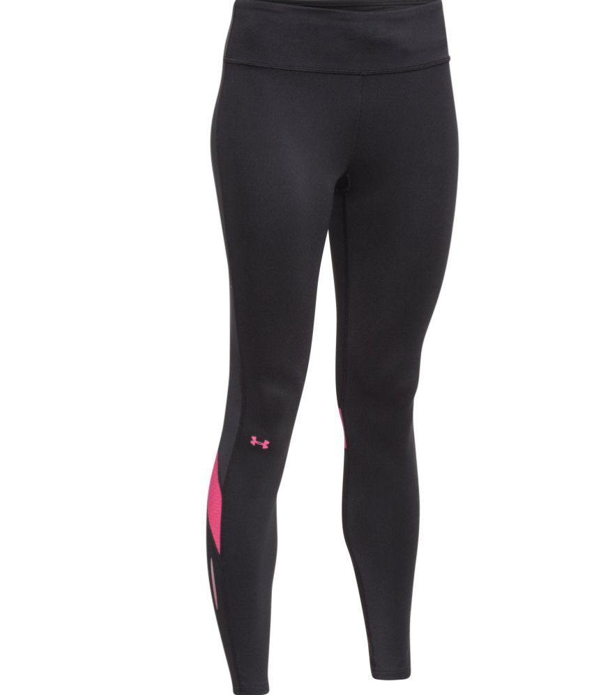 9b53203268a660 ... Under Armour Ladies Hardlloopbroek Fly Bly Compression tights pink ...