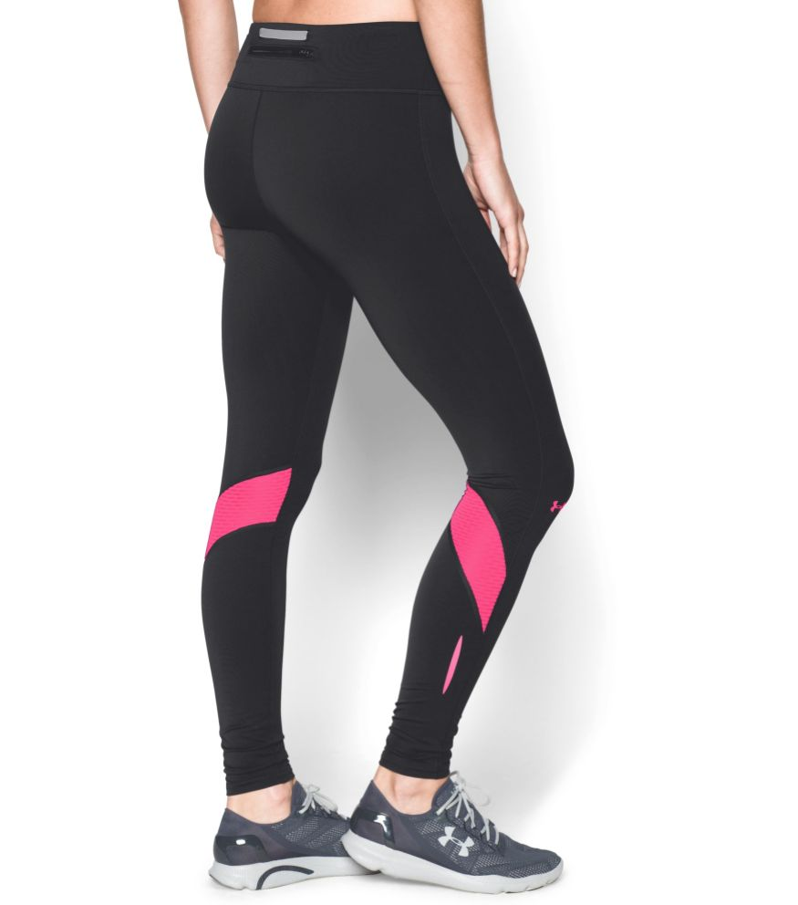 1a69c2c9cd ... Under Armour Ladies Hardlloopbroek Fly Bly Compression tights pink ...