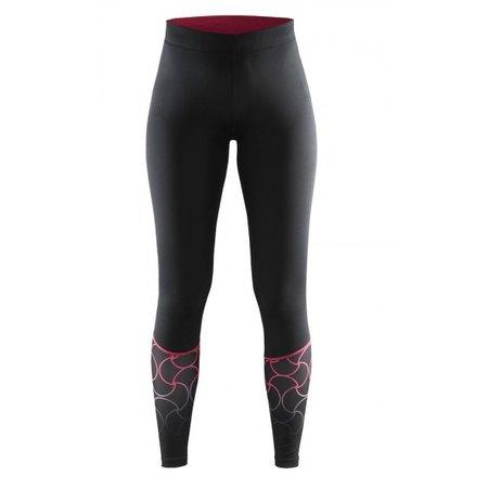 Craft Ladies running shorts Devotion tight black / red