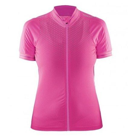 Craft Dames Fietsshirt dames Glow Jersey roze