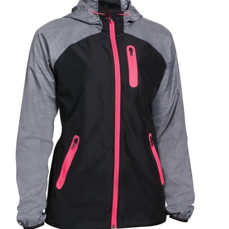 Under Armour Dames hardloopjack Qualifier Woven Jacket zwart/roze