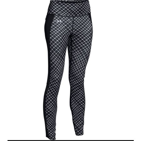 Under Armour Dames hardloopbroek HeatGear Fly By Printed Run Legging