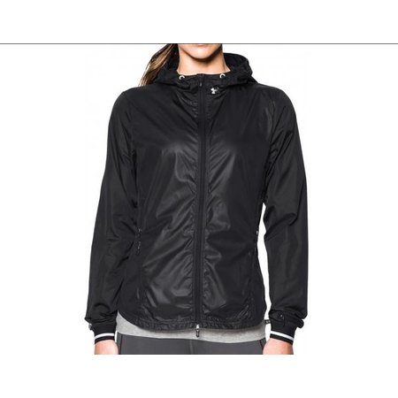 Under Armour Dames hardloopjack Storm Layered Up Jack Zwart