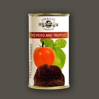 Rode pesto met zwarte truffel