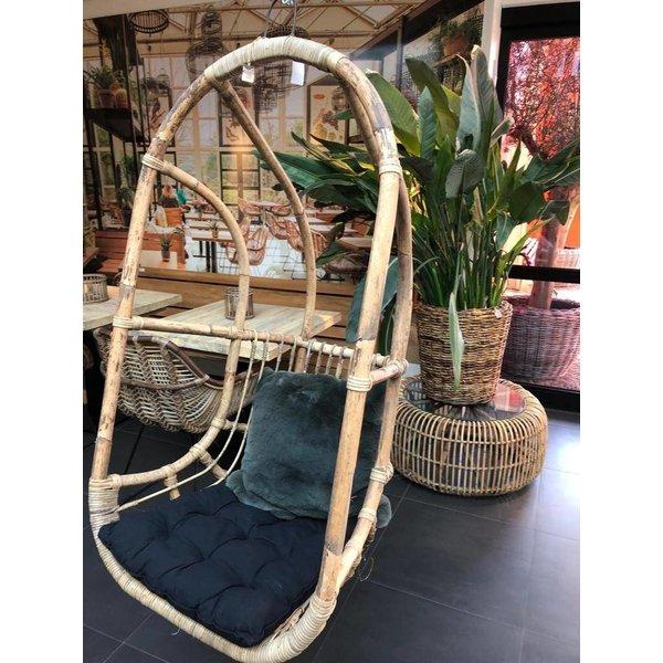Sweet Living Rotan Hangstoel - 67x63xH125 cm