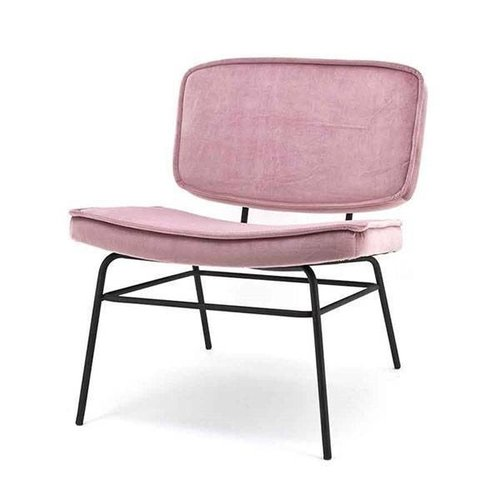 By-Boo Loungestoel Vice Old Pink - 63,5x73xH76 cm