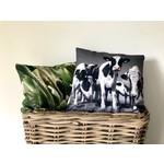 Sweet Living Vierkante Sierkussen Vrolijke koeien