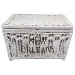 Sweet Living Grote Mand XL Wit - New Orleans
