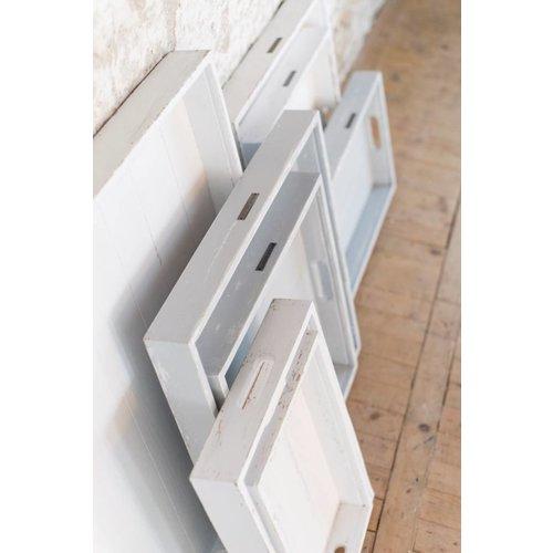 Sweet Living Whitewash Dienblad - 80x80 cm